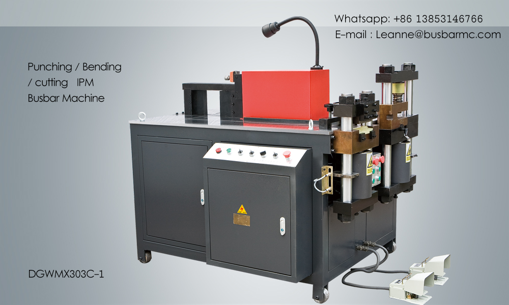 303C-1 Hydraulic Busbar Cutter Busbar Bender Punching Machine