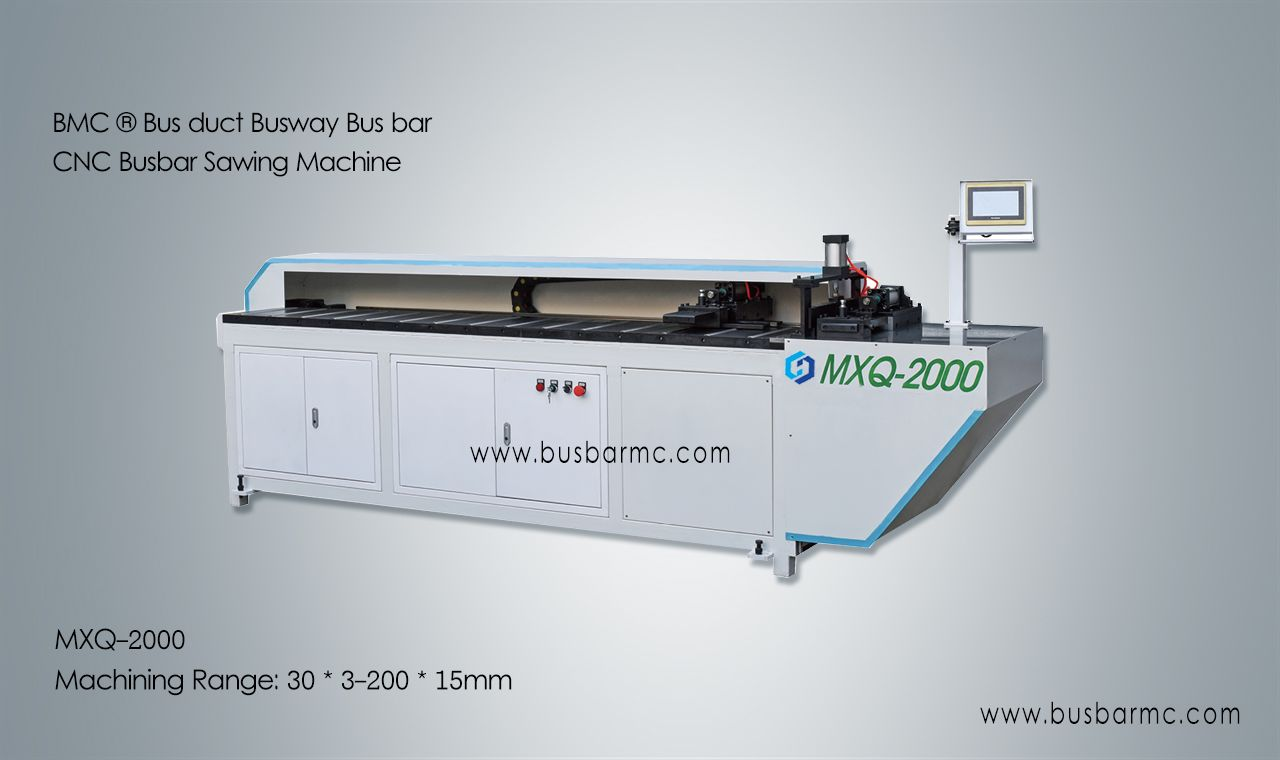 LJMC ® CNC busbar copper bus bar sawing machine